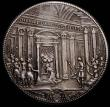 London Coins : A168 : Lot 810 : Italian States - Papal States Piastra 1675 Clemens X KM#368, Dav.4078 44mm diameter in silver , GVF ...