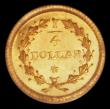 London Coins : A168 : Lot 876 : USA Gold Quarter Dollar California Gold issue, undated (c.1853) Period 1. A.L.Nouizillet Obverse: Bu...
