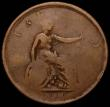 London Coins : A168 : Lot 912 : Ireland Penny Token 1800 or 1822 34mm diameter, 14.19 grammes Obverse : Bust George III right, laure...