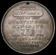 London Coins : A168 : Lot 944 : Election Medal 1816 Thomas Leyland 39mm diameter in silver by T.Halliday, named to T.J.Oates, Obvers...