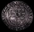 London Coins : A169 : Lot 1075 : Scotland Six Shillings James VI 1619 Scottish Arms in first and fourth quarters S.5508 Near Fine/Goo...