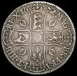 London Coins : A169 : Lot 1281 : Crown 1672 VICESIMO QVARTO ESC 45, Bull 388 Bold Fine