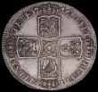 London Coins : A169 : Lot 1294 : Crown 1746 LIMA ESC 125, Bull 1668 VF/GVF a most pleasing and collectable example