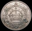 London Coins : A169 : Lot 1329 : Crown 1936 ESC 381 EF the obverse with an area of slightly uneven tone