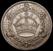 London Coins : A169 : Lot 1330 : Crown 1936 ESC 381, Bull 3649 GVF the obverse with some contact marks, scarce