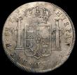 London Coins : A169 : Lot 1340 : Dollar George III Oval Countermark on 1795 Bolivia 8 Reales Potosi ESC 131 countermark VF host coin ...