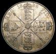 London Coins : A169 : Lot 1346 : Double Florin 1888 Second I in VICTORIA an inverted 1 ESC 397A, Bull 2700 UNC with original lustre a...
