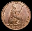 London Coins : A169 : Lot 1382 : Farthing 1847 B of BRITANNIAR with no serifs, both A's in BRITANNIAR unbarred, LCGS Variety 07,...