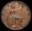 London Coins : A169 : Lot 1422 : Farthing 1896 Pattern with Small Veiled Head, the legend completely circling the head, Freeman 781, ...