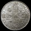 London Coins : A169 : Lot 1710 : Shilling 1708 Plumes ESC 1148 A/UNC and lustrous, slabbed and graded LCGS 75, the finest of just 2 e...