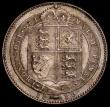 London Coins : A169 : Lot 1754 : Shilling 1889 Small Jubilee Head ESC 1354, Bull 3141, Davies 984 dies 1C, Q of QUI with looped tail,...