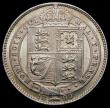 London Coins : A169 : Lot 1758 : Shilling 1890 ESC 1357, Bull 3144, UNC or very near so with minor cabinet friction and traces of att...