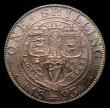 London Coins : A169 : Lot 1761 : Shilling 1893 Small Obverse Letters ESC 1361A, Bull 3154, Davies 1010 dies 1A, a most attractive exa...