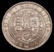 London Coins : A169 : Lot 1764 : Shilling 1895 Large Rose ESC 1364A, Bull 3160, Davies 1018 dies 2D, choice lustrous surfaces with a ...