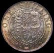 London Coins : A169 : Lot 1765 : Shilling 1897 ESC 1366, Bull 3162 a choice piece the obverse with deep gold toning with touches of g...