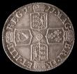 London Coins : A169 : Lot 1791 : Sixpence 1711 Large Lis ESC 1596A, Bull 1461, in an LCGS holder and graded LCGS 55