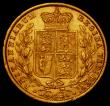 London Coins : A169 : Lot 1866 : Sovereign 1861 C over rotated C in VICTORIA, also with R over lower R in VICTORIA S.3852D VF/About E...