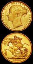 London Coins : A169 : Lot 1968 : Sovereigns (3) 1877M George and the Dragon S.3857 NEF, 1879M George and the Dragon S.3857 GVF, 1880M...