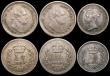 London Coins : A169 : Lot 2117 : Threehalfpences (3) 1834 Good Fine/Fine, 1835 5 over 4 VF, 1838VF/GVF toned, Half Farthings (2) 1843...