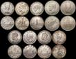 London Coins : A169 : Lot 2145 : Commonwealth in Silver (19) Canada Dollars (11) 1935 KM#30 (2) VF and NEF, 1938 KM#37 EF/GEF and lus...