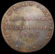 London Coins : A169 : Lot 314 : Halfpenny Middlesex 1795 Stinton's - Obverse: Grasshopper/Reverse: W.Stinton . St. James's...