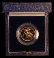 London Coins : A169 : Lot 533 : Half Sovereign 1983 Proof FDC cased as issued with certificate