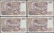 London Coins : A169 : Lot 60 : Ten Pounds Fforde Lion & Key B316 Brown issued 1967 (4) a consecutively numbered single prefix t...