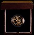 London Coins : A169 : Lot 610 : Sovereign 1999 Proof FDC boxed as issued with certificate