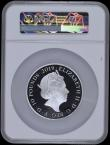London Coins : A169 : Lot 653 : Ten Pounds 2019 200th Anniversary of the Birth of Queen Victoria 5oz. Silver Proof S.M16 FDC in a la...