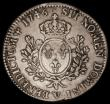 London Coins : A170 : Lot 1003 : France Ecu 1746V Troyes Mint KM#521.21 VG/About Fine, Rare with a mintage of just 12,000 pieces