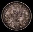 London Coins : A170 : Lot 1051 : India 2 Annas 1911 KM#514 EF with an attractive original tone, Scarce