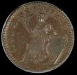 London Coins : A170 : Lot 1272 : USA/Ireland Halfpenny 1723 Woods, Large 3, Breen 155, in a PCGS holder and graded AU58 (ticket in ho...