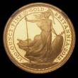 London Coins : A170 : Lot 1350 : Britannia Gold Ten Pounds 2012 One Tenth Ounce S.BN4 in an NGC holder and graded PF70 Ultra Cameo