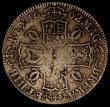 London Coins : A170 : Lot 1351 : Crown 1662 No Rose below bust, dated 1662 on edge, ESC 18, Bull 351, VG/VG or better the reverse wit...