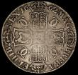 London Coins : A170 : Lot 1353 : Crown 1662 Rose below, no date on edge, edge lettering widely spaced ESC 15, Bull 339 VG or better, ...