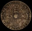 London Coins : A170 : Lot 1355 : Crown 1664 XVI edge, ESC 28, Bull 360 VG, the reverse better, with old grey tone, an even and collec...
