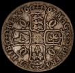 London Coins : A170 : Lot 1357 : Crown 1667 DECIMO NONO, with diagonally spaced colon stops on the edge ESC 35A, Bull 372 VG a collec...
