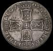 London Coins : A170 : Lot 1370 : Crown 1703 VIGO ESC 99 Obverse GVF, Reverse VF or better, with a pleasing grey tone, Ex-Spink