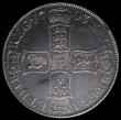 London Coins : A170 : Lot 1371 : Crown 1703 VIGO ESC 99, Bull 1340 GVF with some haymarking, overall a nicely struck example with an ...