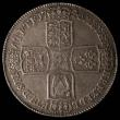 London Coins : A170 : Lot 1379 : Crown 1746 LIMA ESC 125, Bull 1668 EF with grey tone and some light haymarking, all George II Crowns...