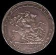 London Coins : A170 : Lot 1382 : Crown 1819 LIX ESC 215, Bull 2010, About UNC, lightly toned, in an LCGS holder and graded LCGS 78