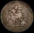 London Coins : A170 : Lot 1383 : Crown 1819 LIX ESC 215, Bull 2010, double struck I in QUI, VG