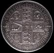 London Coins : A170 : Lot 1398 : Crown 1847 Gothic UNDECIMO ESC 288, Bull 2571, A/UNC in an LCGS holder and graded LCGS 75