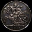 London Coins : A170 : Lot 1414 : Crown 1893 Proof NGC PF64 CAMEO