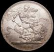London Coins : A170 : Lot 1416 : Crown 1897 LX ESC 312 A/UNC and lustrous with a hint of golden tone, slabbed and graded CGS 75
