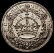 London Coins : A170 : Lot 1421 : Crown 1927 Proof ESC 367, Bull 3631 EF/GEF and lustrous, the obverse with some contact marks