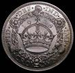 London Coins : A170 : Lot 1429 : Crown 1928 ESC 368, Bull 3633 Lustrous UNC, in an LCGS holder and graded LCGS 80