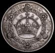 London Coins : A170 : Lot 1430 : Crown 1928 ESC 368, Bull 3633 NEF with a stain on the obverse