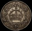 London Coins : A170 : Lot 1431 : Crown 1928 Fine/Good Fine with a heavy scratch on the obverse