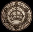 London Coins : A170 : Lot 1433 : Crown 1929 ESC 369, Bull 3636 Good Fine/NVF once cleaned, the obverse with some spots